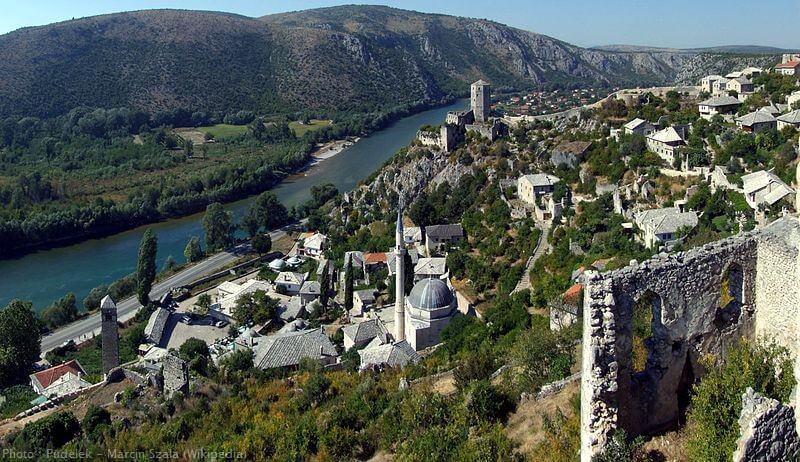 Pocitelj village ottoman en herzégovine