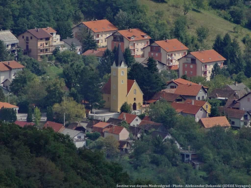 Sestine depuis Medvedgrad