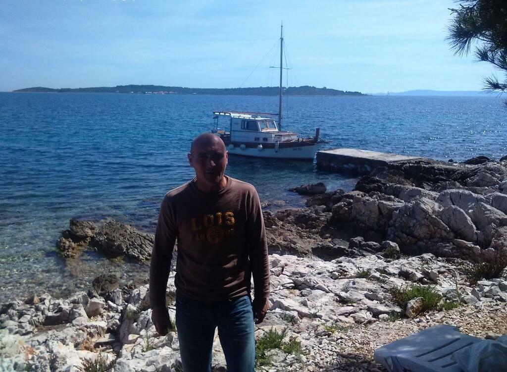 Tommy à Zizanj dans les iles Kornati