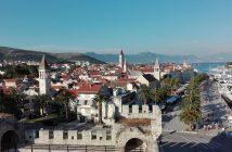 Trogir ville historique vue panoramique