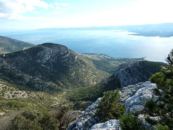 Vidovo Gora sur l'île de Brac