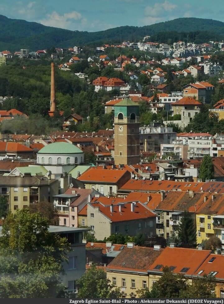 Zagreb Église Saint-Blaz
