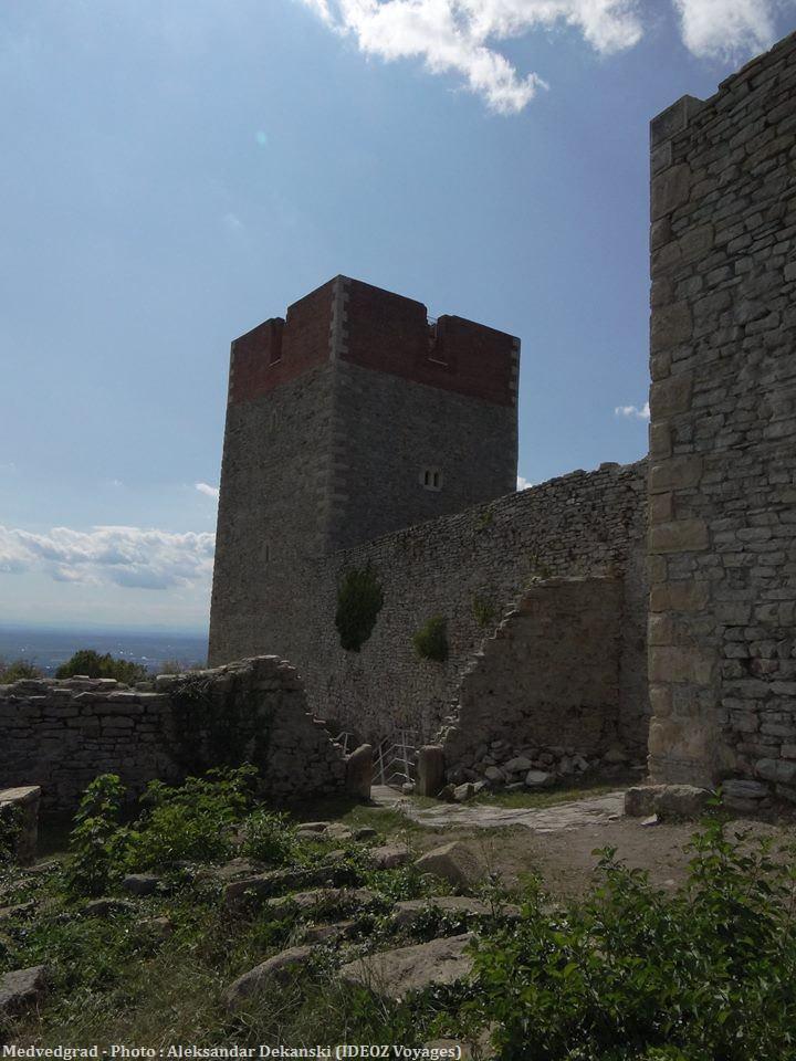 Zagreb Tour du chateau Medvedgrad