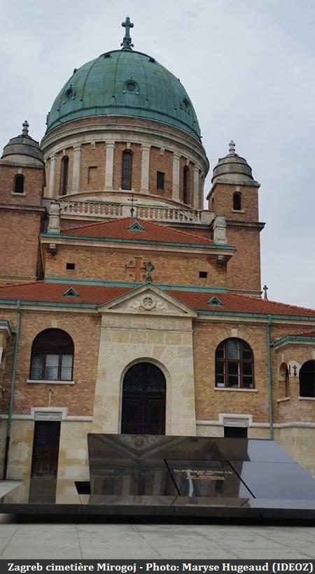 Zagreb cimetière de Mirogoj à Gornji Grad