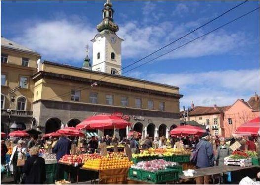 Zagreb marché Dolac