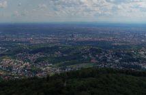 Zagreb panorama depuis Medvedgrad