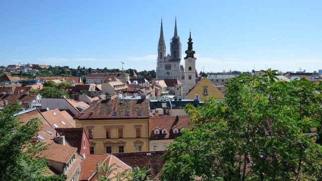 Zagreb quartier de Kaptol