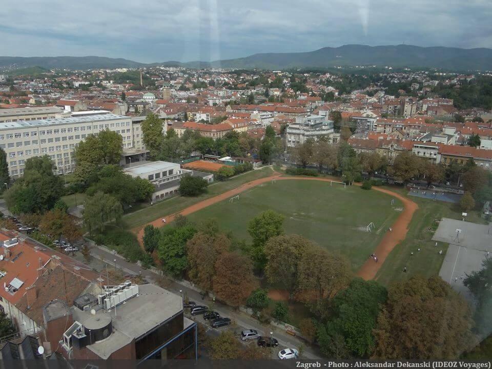 Zagreb terrain de sport