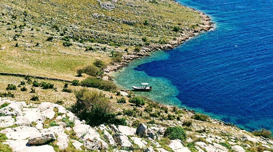 baie dans les iles kornati avec jure excursion depuis Pakostane