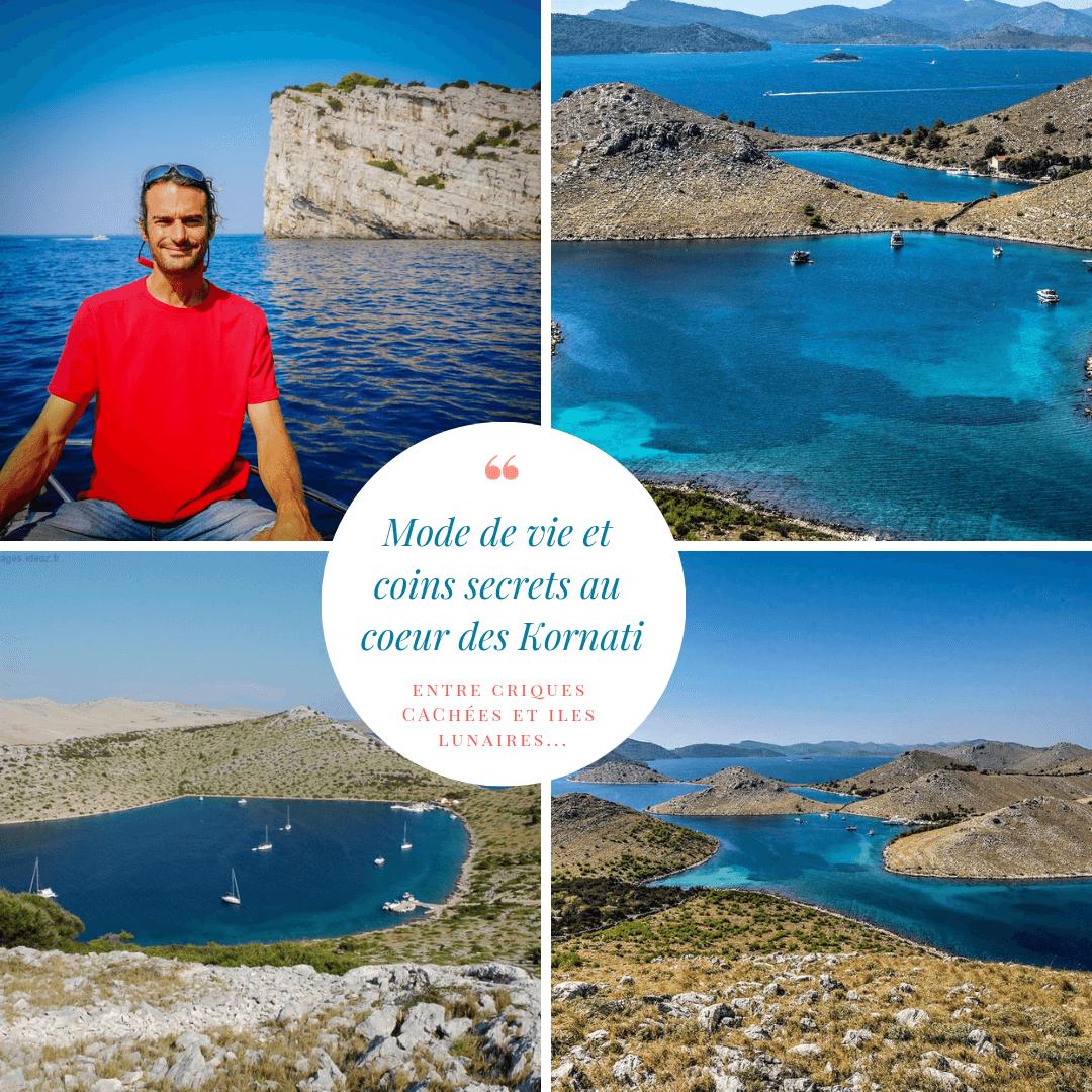 coins cachés dans les îles Kornati avec David Maksan