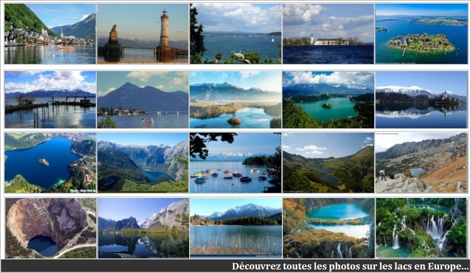 Plus beaux lacs en europe
