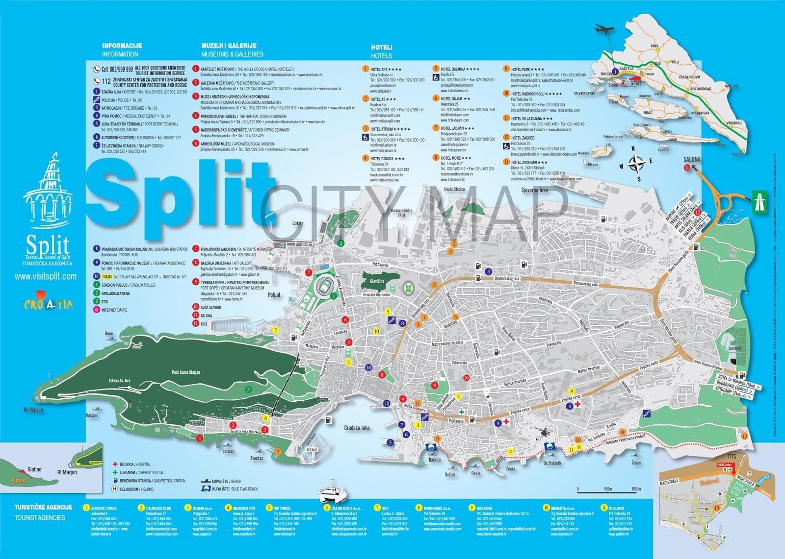 PLAN split touristique