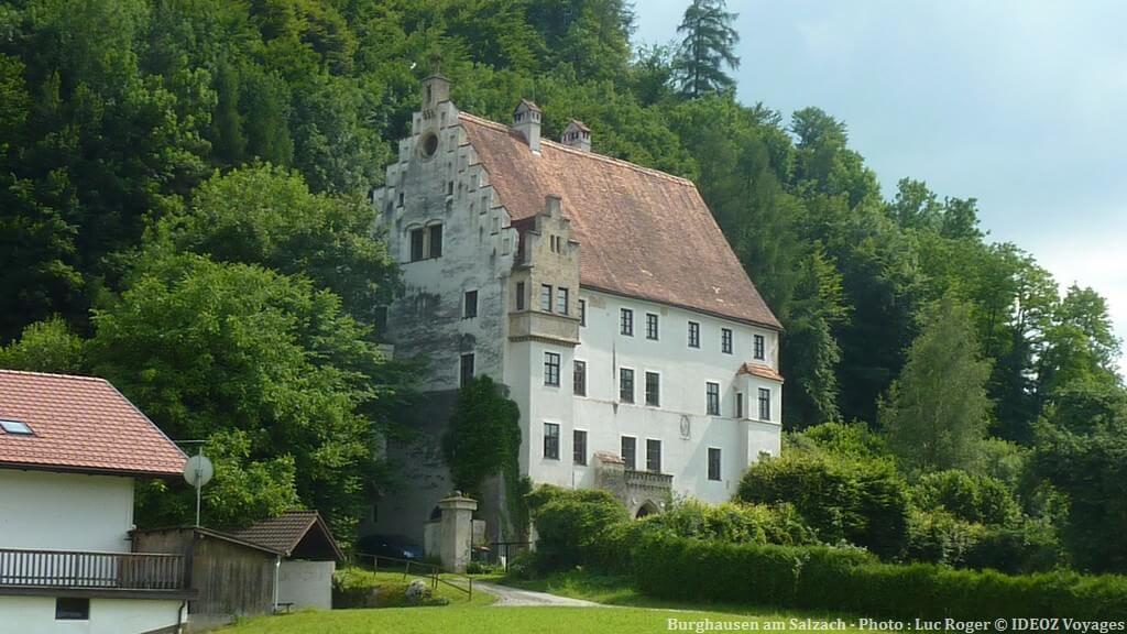Burghausen am Salzach bâtisse près du chateau