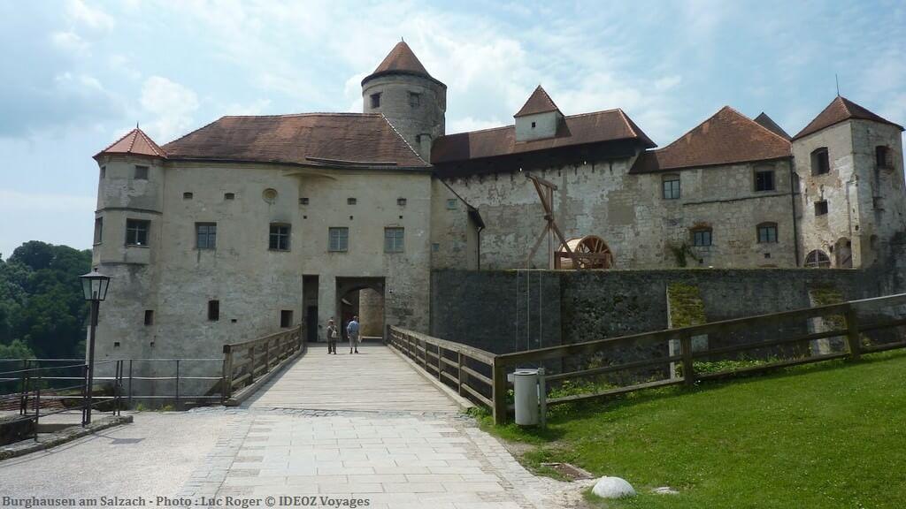 Burghausen la plus grande forteresse d 39 allemagne tourisme baviere - Office de tourisme munich ...