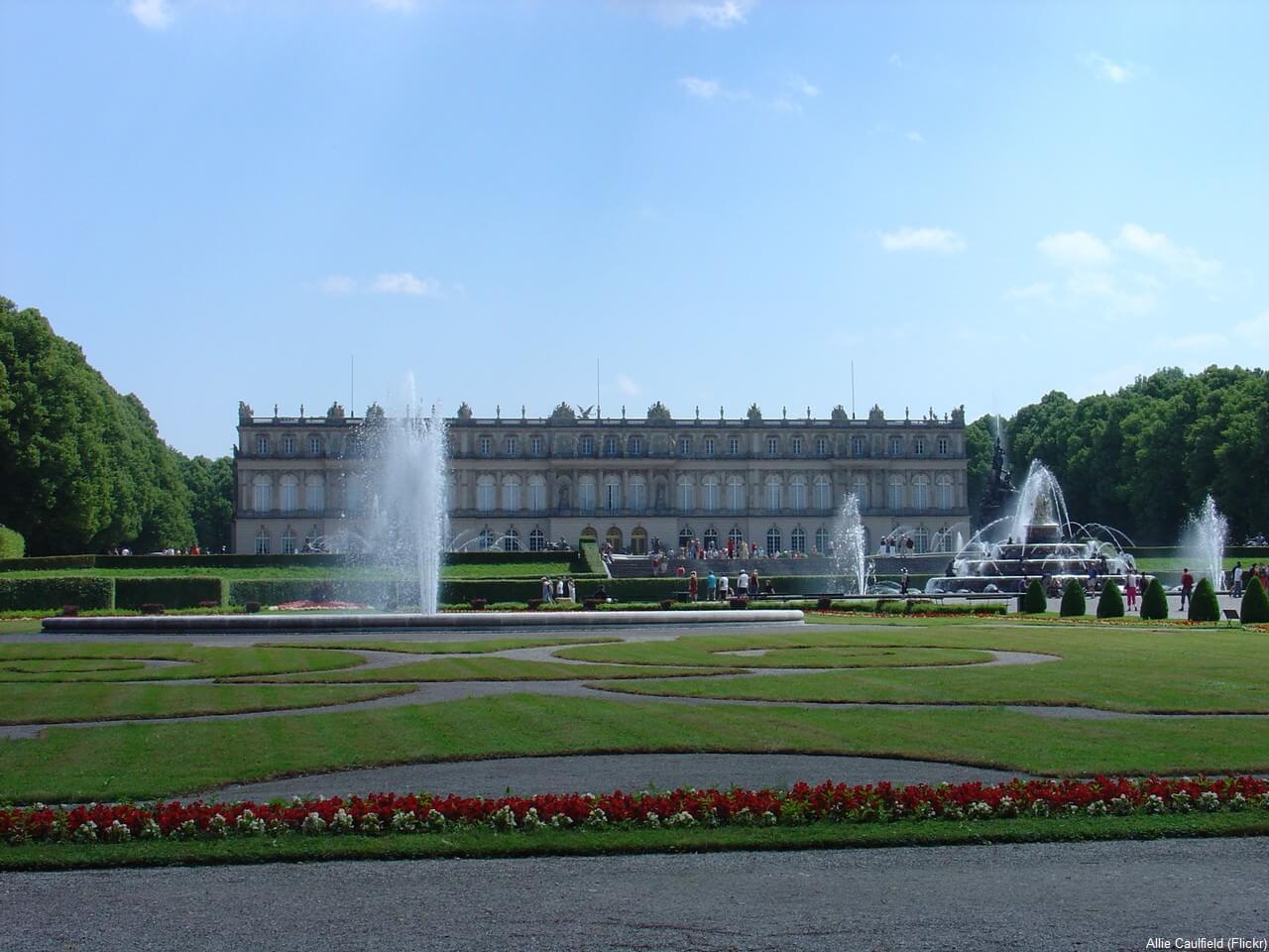 Château Herrenchiemsee versailles de Louis II de Bavière