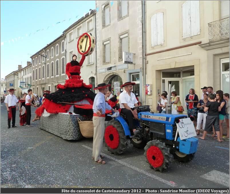 Fête du cassoulet de Castelnaudary 2012 Char Danseuse de flamenco