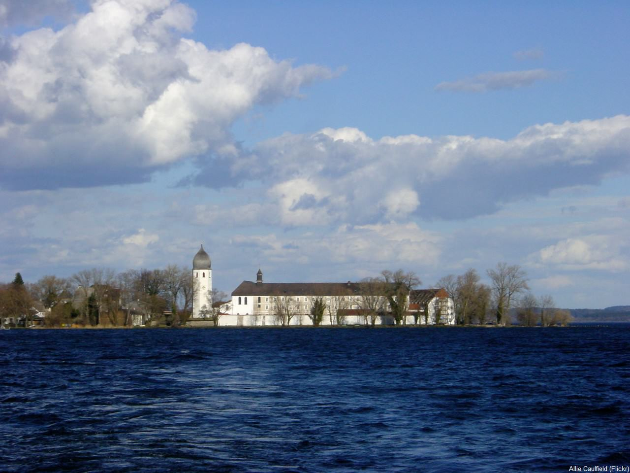 Fraueninsel sur le lac Chiem