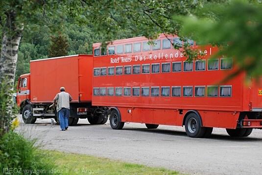 Iles Lofoten bus dortoir allemand