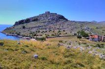 Kornati ruines de Tureta et chapelle Notre dame de Tarac