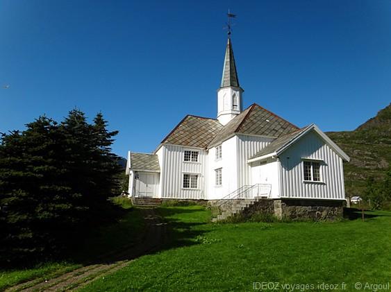 Lofoten église moskenes sorvagan