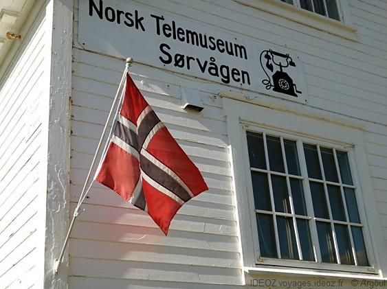 Lofoten Sørvågan musée du télégraphe