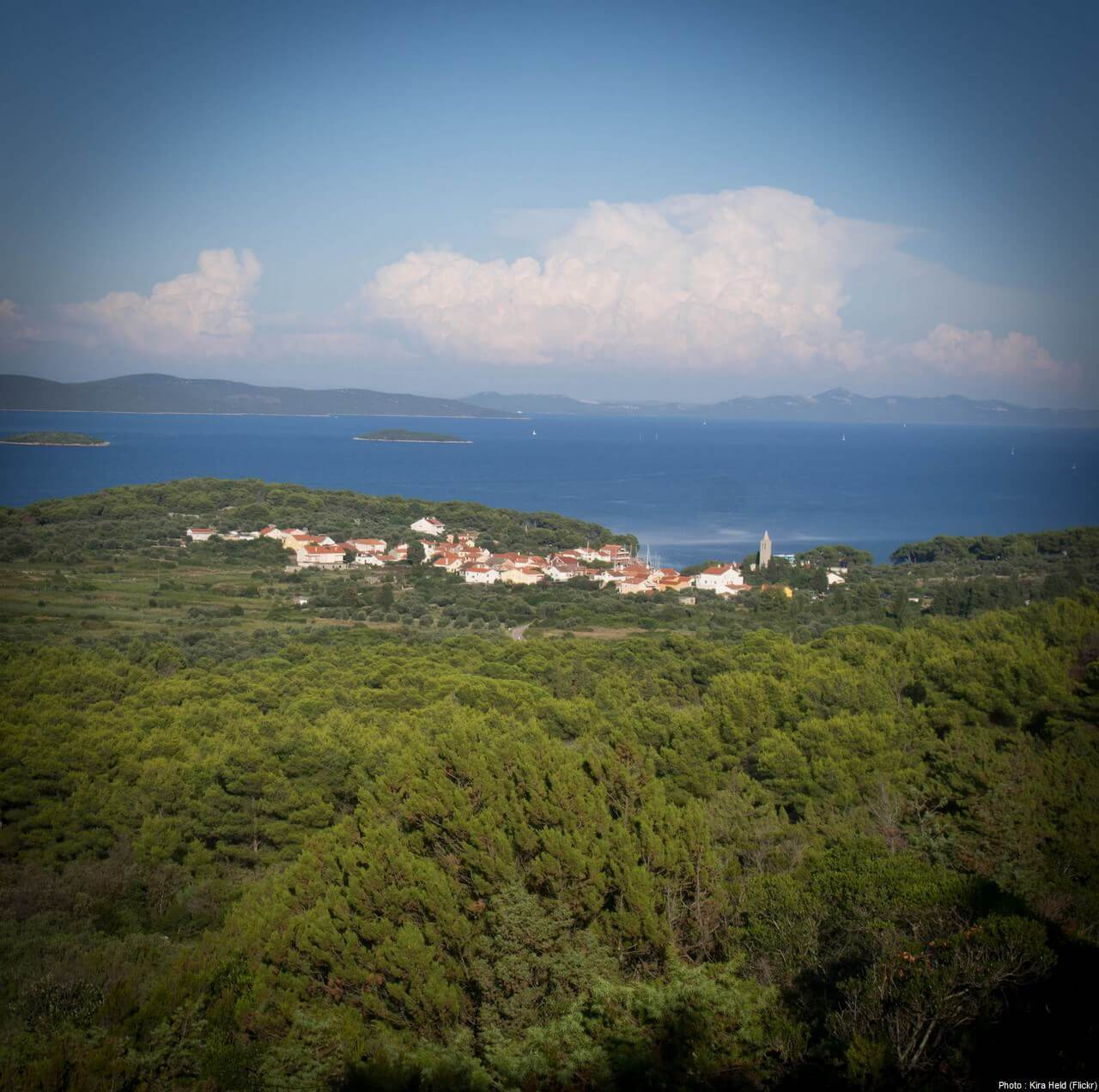 Village sur l'ile de Dugi Otok