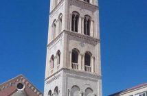 Zadar clocher de saint Donat