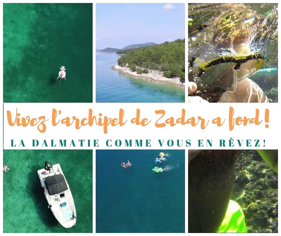 excursion privée dans l'archipel de zadar avec David Topic