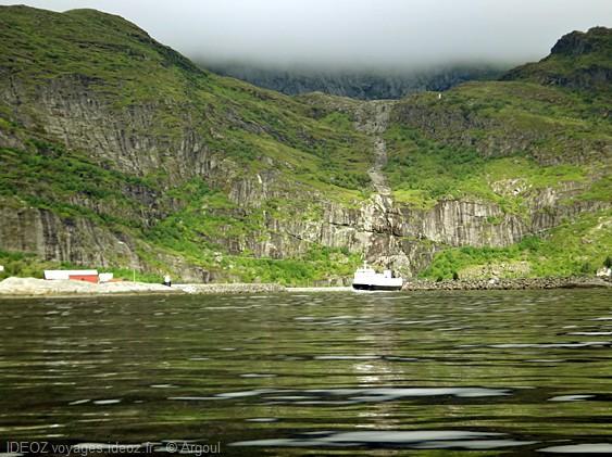 lofoten site de peche en norvege