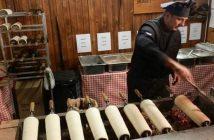 Kürtöskalacs Marché de Noel Budapest