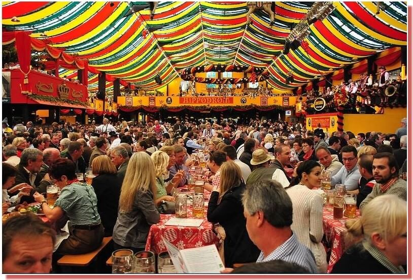 Tente Hippodrom zeit Munich Oktoberfest