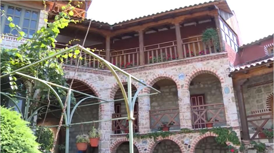 Tvrdos logements des moines du monastère serbe orthodoxe près de Trebinje