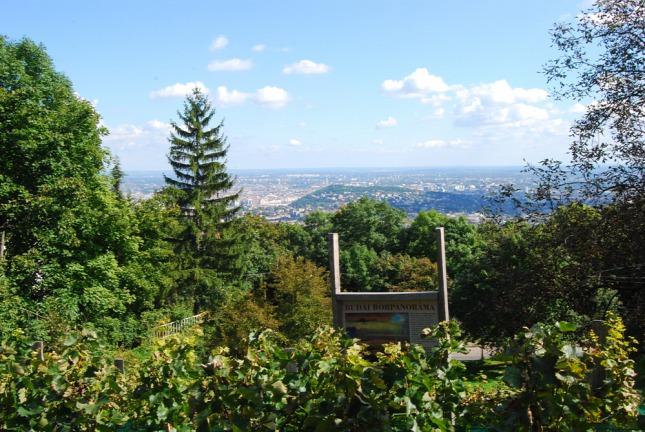 Nature Budapest jardin jokai