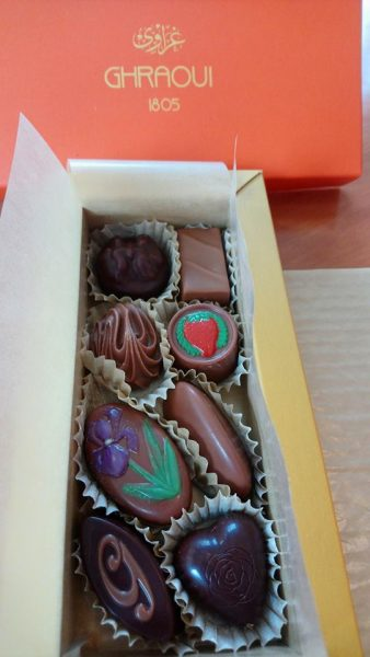 Budapest Boîte de chocolats Ghraoui