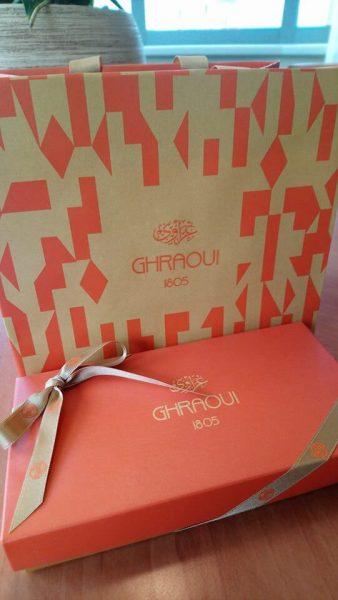 Chocolaterie Ghraoui Budapest boîte de chocolats