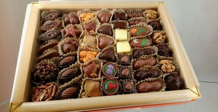 Chocolaterie Ghraoui Budapest chocolats en hommage à la Hongrie