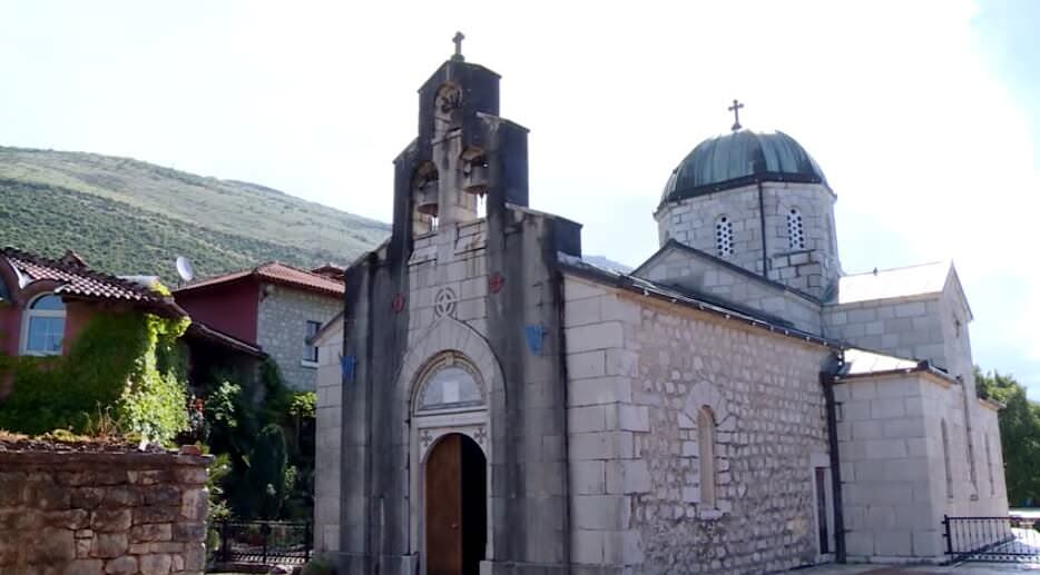 Eglise du monastère Tvrdos