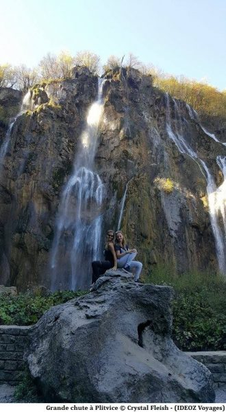 Grande chute à Plitvice