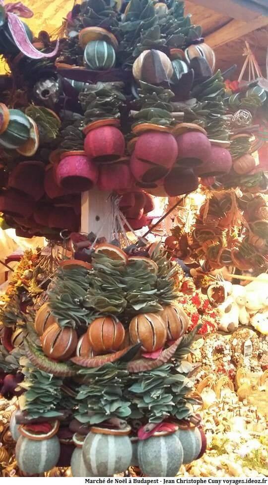 Décorations de Noël à Budapest en Hongrie