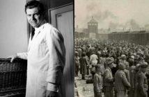 Médecin Nazi Josef Mengele et camp d'Auschwitz