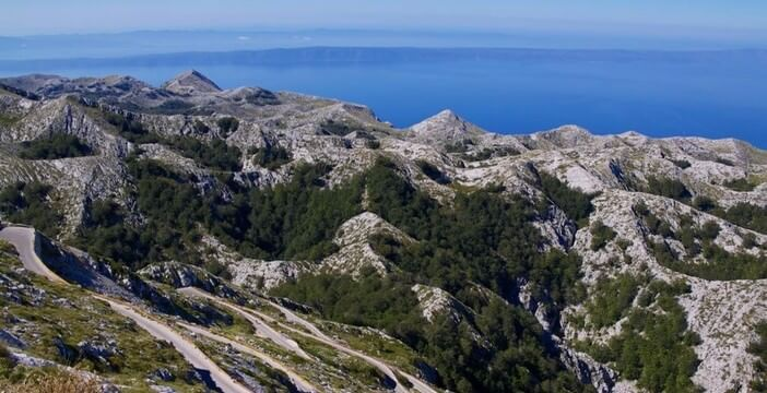 Massif Biokovo près de Makarska