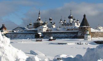 Monastère orthodoxe russe des îles solovki