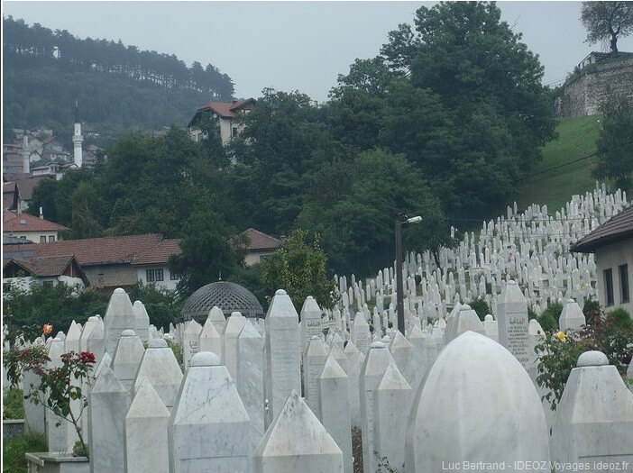 Sarajevo cimetière des collines