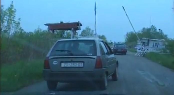 check point frontières en Croatie centrale