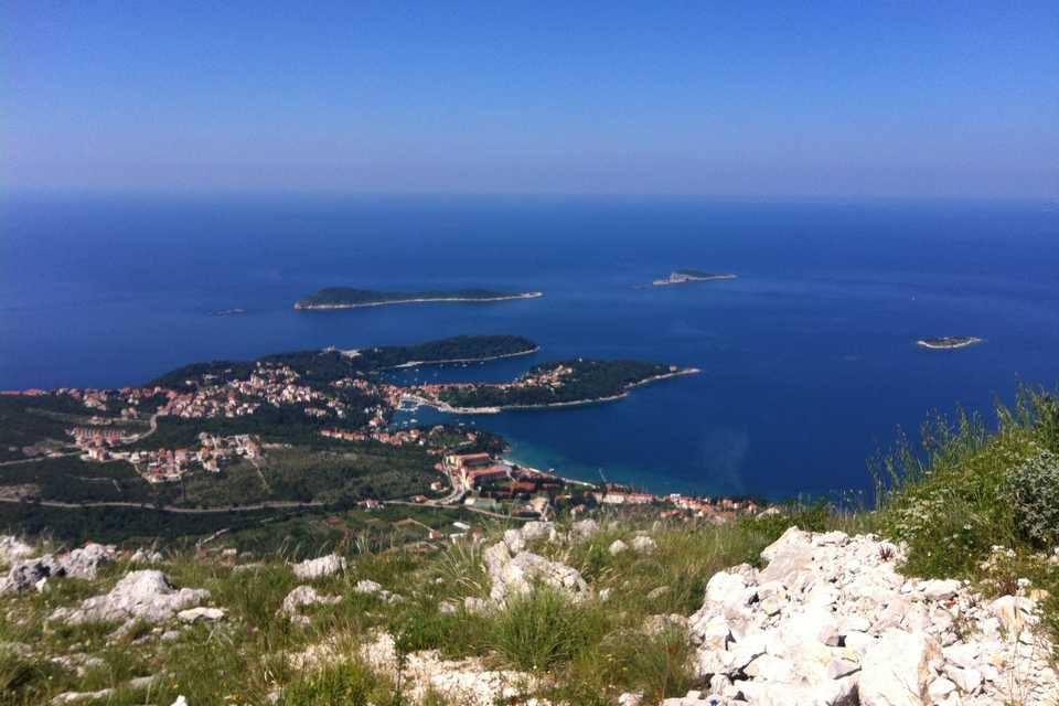 Konavle arrière pays de Dubrovnik et vue sur sa riviera