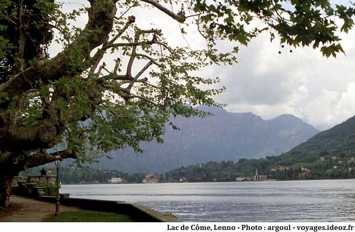 Lenno au bord du lac de Côme