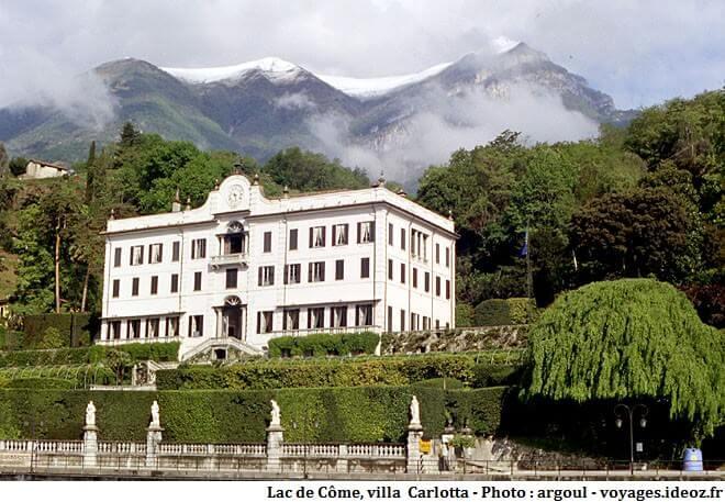 Villa Carlotta à Tremezzo sur le Lac de Côme