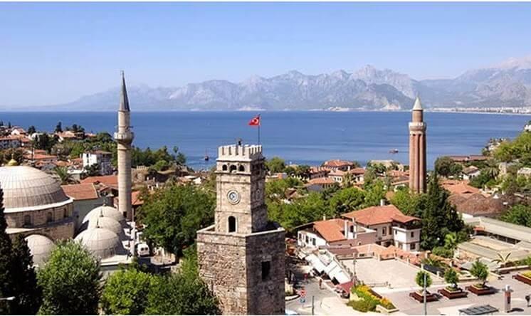 Antalya sur la riviera méditerranéenne turque