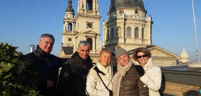 Ditta Kausay visite guidée à Budapest