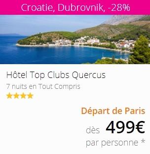 Lastminute Dubrovnik en Croatie